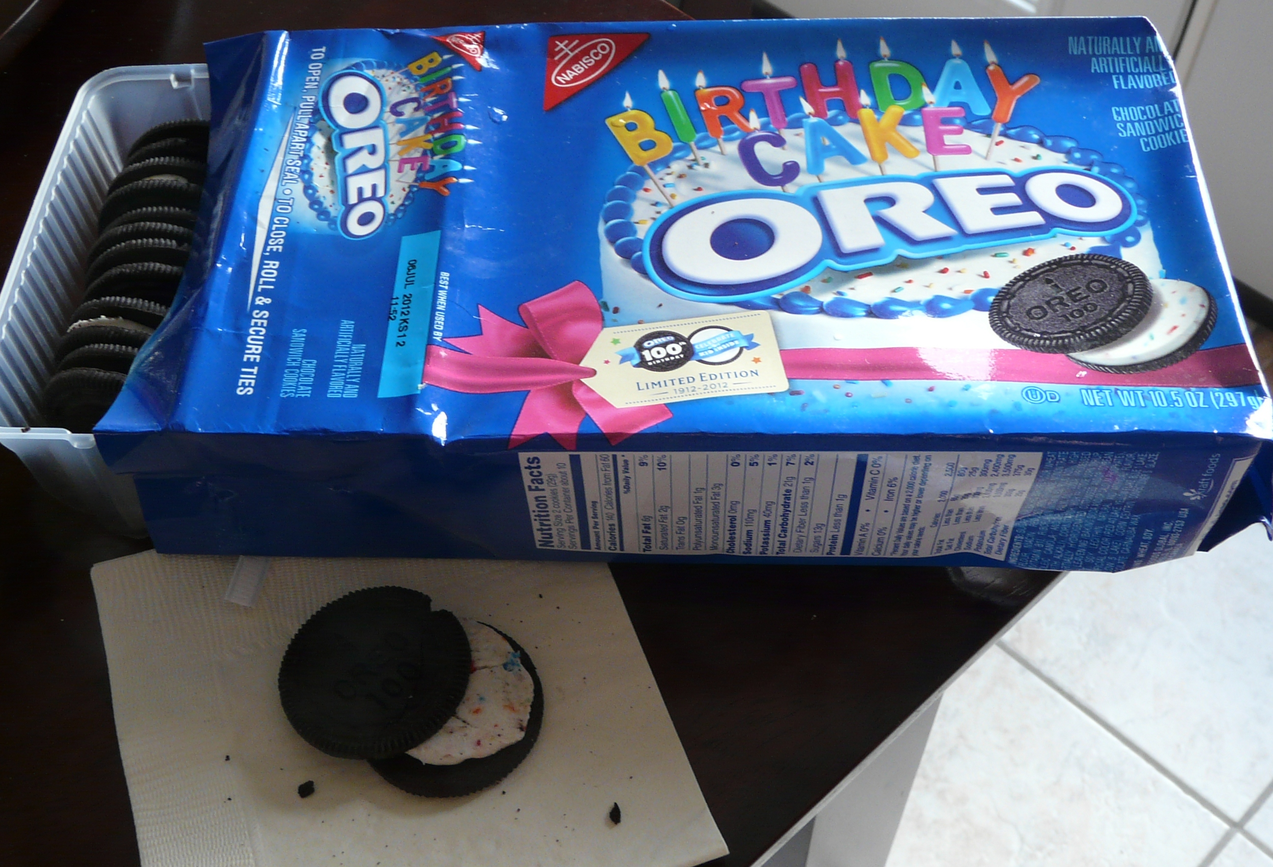 Birthday Cake Oreo Mandys Marvelous Meals