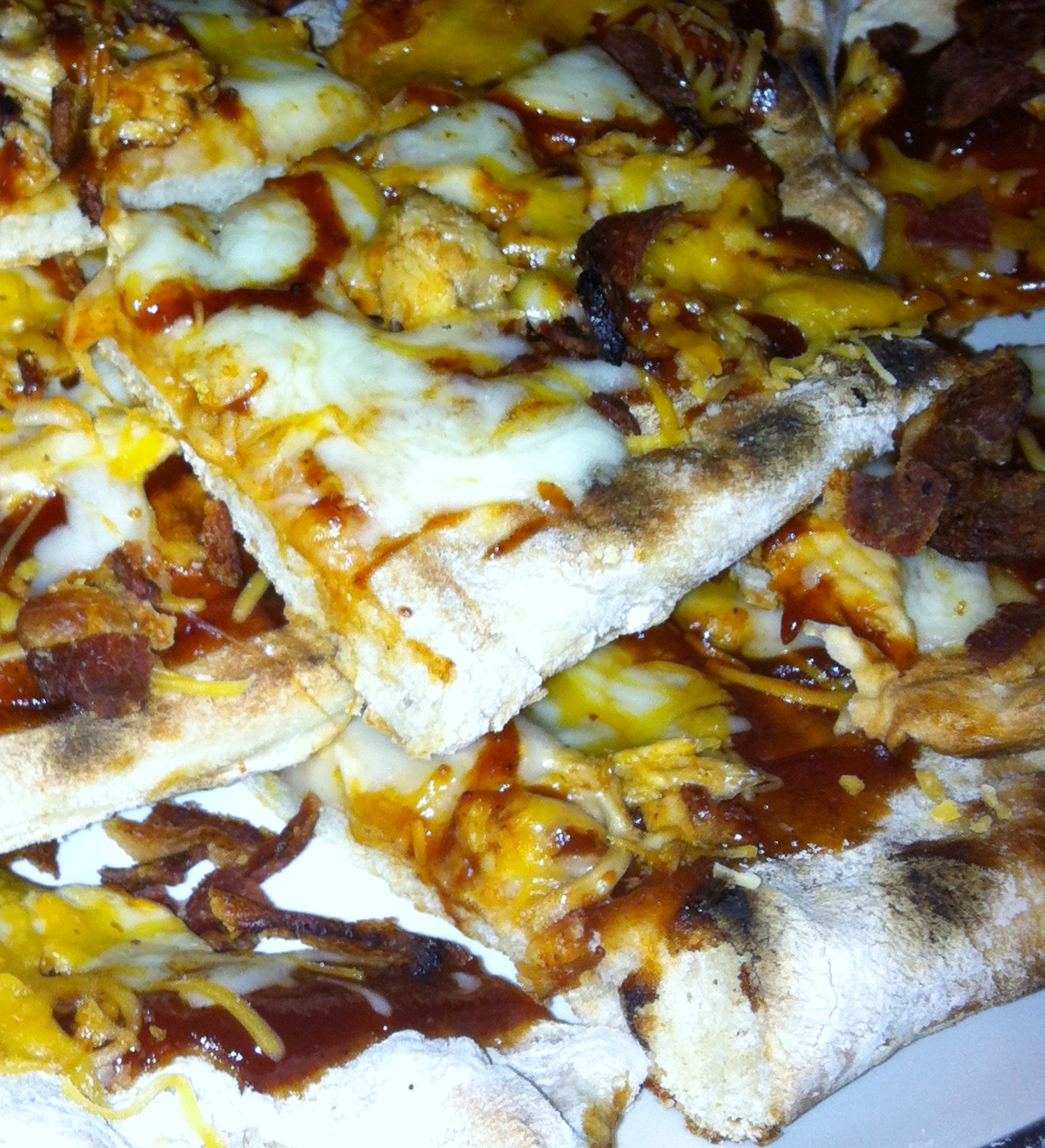 Grilled Barbecue Chicken Pizza | Mandy's Marvelous Meals